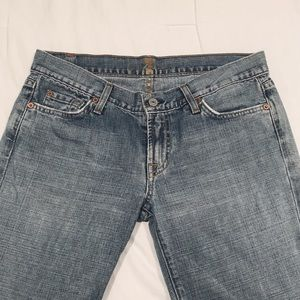 7 for all mankind light wash bootcut EUC size 30